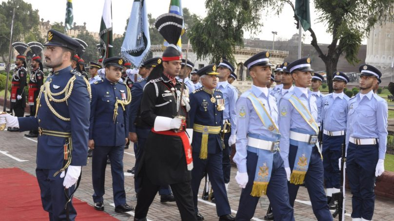 Pakistan Day celebrations by PAF with traditional zeal and fervor
