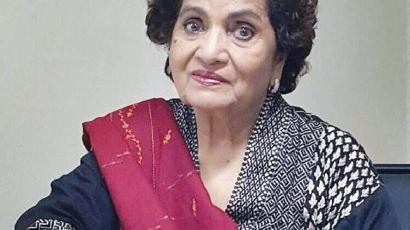 The legendary playwright Haseena Moin passes away at 80