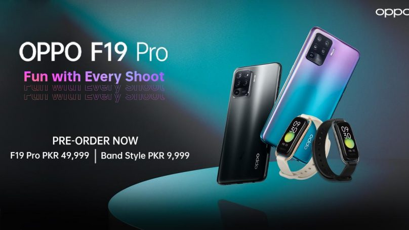 OPPO Launches F19 Pro in a Stylish Night in Pakistan