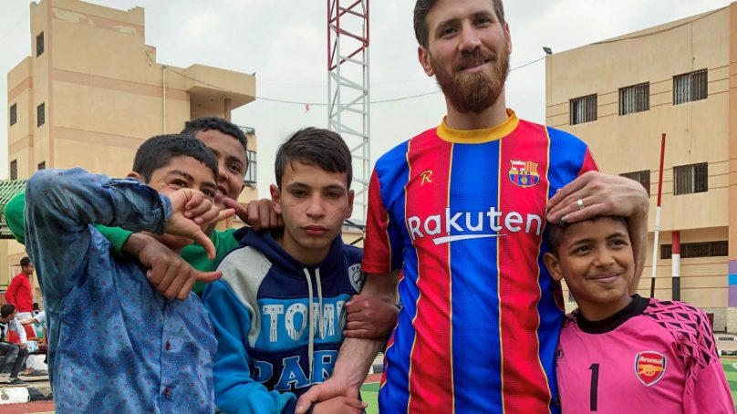 Lionel Messi's doppelganger is found in Egypt