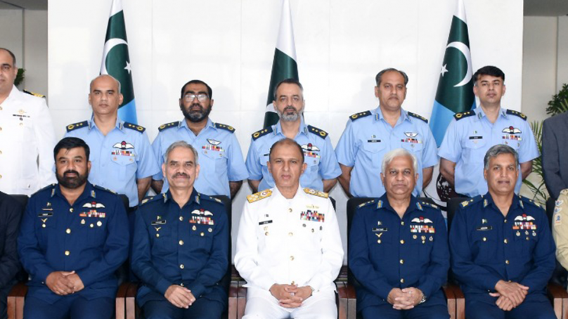 Chief of The Naval Staff visits PAF Air War College Institute