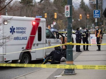 One dead and six injured in Vancouver's library attack