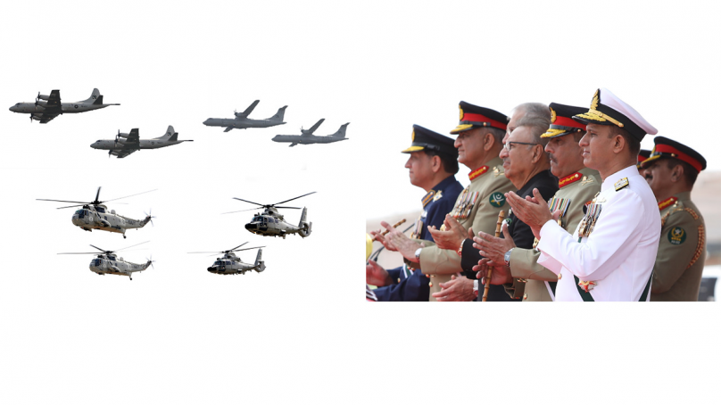 Pakistan Navy participates in Pakistan Day JS Parade with zeal & zest