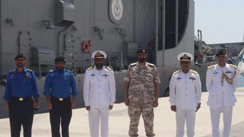 Pakistan Navy Ships visit Doha and participate in exercise Asad Al Bahr-II