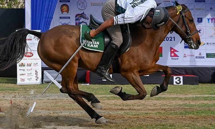 Pakistani team wins Equestrian Tent Pegging Championship 2021