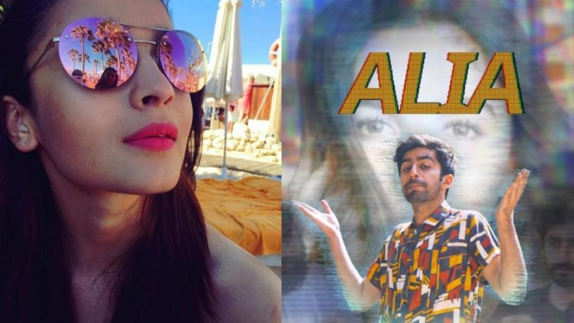 Pakistani comedian and rapper receives a reply from Alia Bhatt on an Instagram video