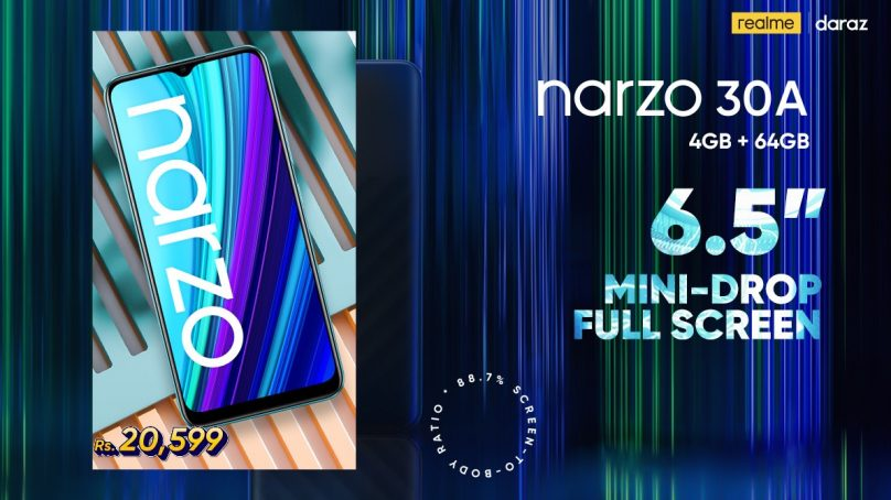 realmeNarzo 30A comes as a budget-friendly gaming phone