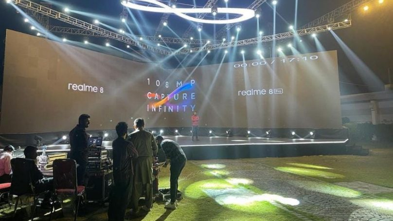 realme 8 Series Launch Event Photo Leaked
