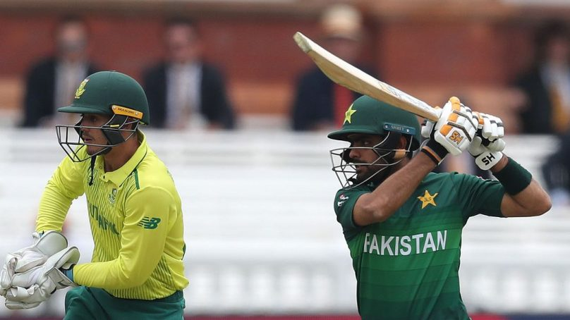 The ODI series of Pakistan and South Africa starts today