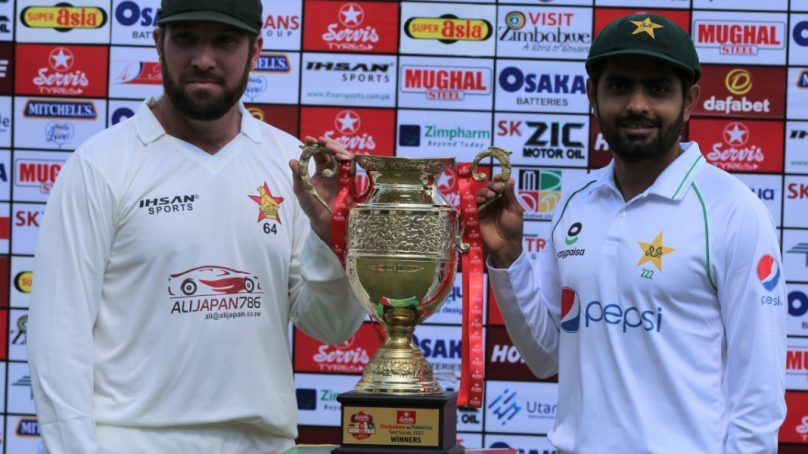 Pakistan rules Zimbabwe for the first Test match