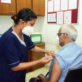 Senior citizens of 80 and above will get the vaccination at home