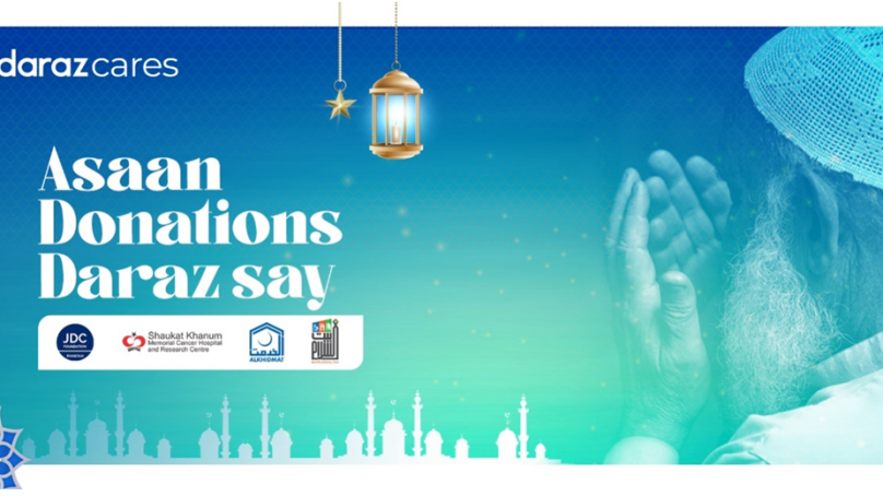 """""""Asaan Donations Daraz Say"""" extends support to multiple NGOs in the month of Ramzan"""
