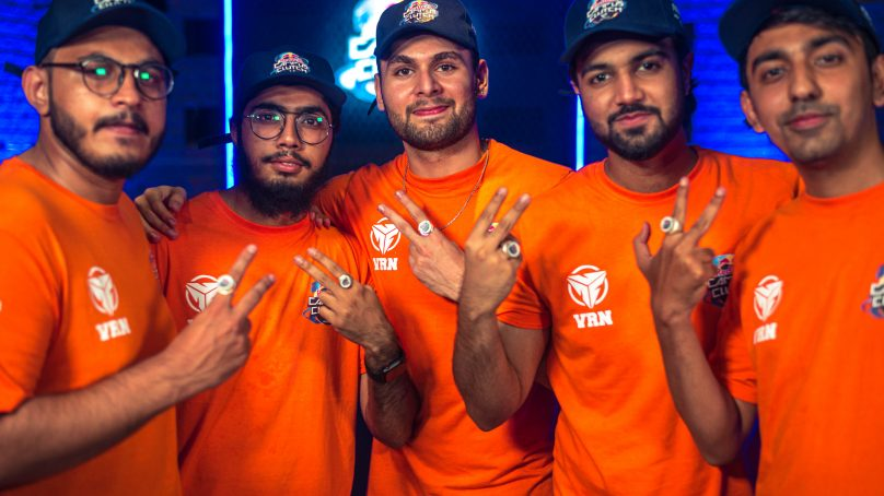 VRNoobz wins the first-ever Red Bull Campus Clutch Pakistan