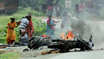 Violence during state polls in West Bengal
