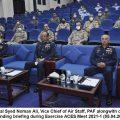 """Air Marshal Syed Noman Ali reviews """"ACES Meet 2021-1"""""""