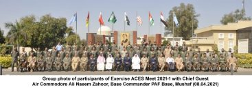 """Multi-National Air Exercise """"ACES Meet 2021-1"""" concluded"""