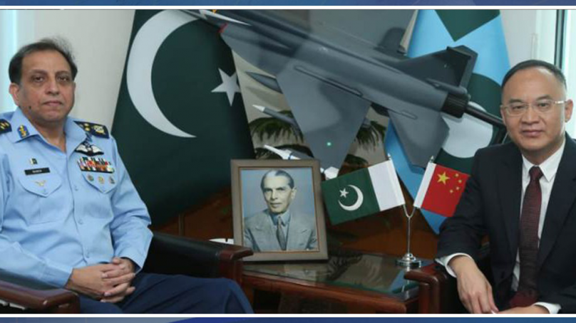 Ambassador of china calls on Air Chief