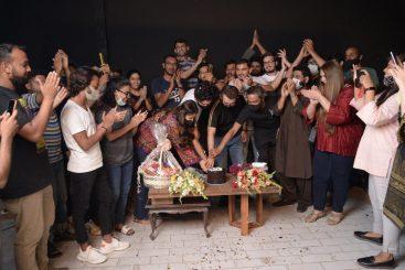 Sajal Aly and Ahad Raza Mir wrap up the shoot of Dhoop Ki Deewar!