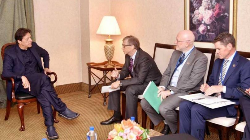 Prime Minister Khan and Bill Gates discuss next steps on COVID-19 response, polio eradication, and climate change