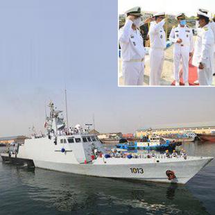 Pakistan Navy Ship AZMAT visits port Bandar Abbas, Iran