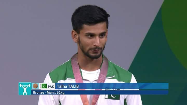 Talha Talib wins bronze medal  in Asian Championship
