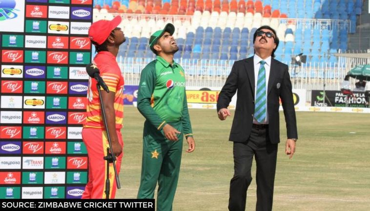 Pakistan to bat first in the second T20I against Zimbabwe