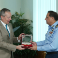 Ambassador of Czech Republic, H.E Tomas Smetanka, calls on Air Chief