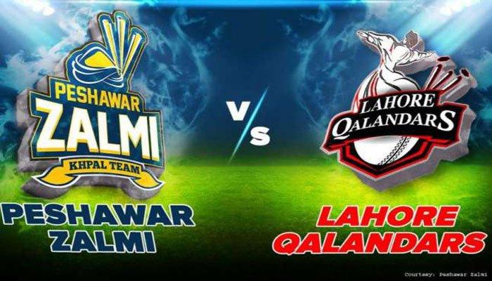 Lahore Qalandars wins over Peshawar Zalmi by 10 runs