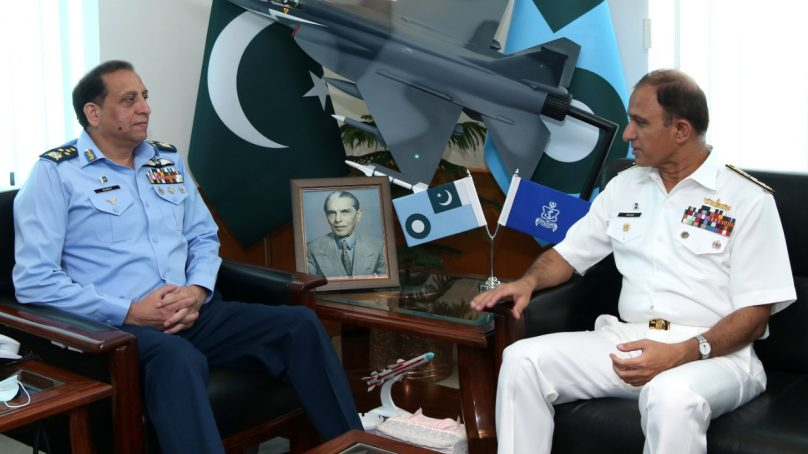 Chief of the Naval Staff calls on Air Chief Marshal