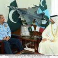 Ambassador of Qatar called on Air Chief Marshal Zaheer Ahmed Baber