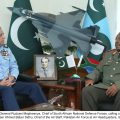 Chief of South African National Defence Forces calls on CAS