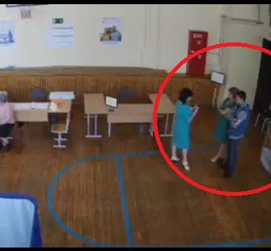Stuffing the box Russian parliament election fraud caught on CCTV 389x360