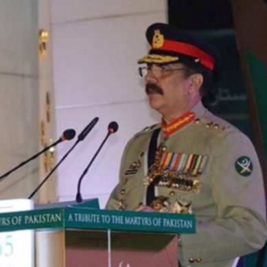 جنرل راحیل شریف کا جی ایچ کیو میں خطاب