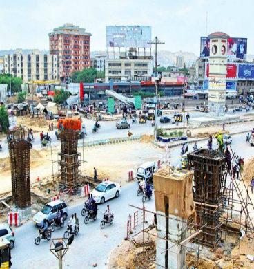 گرین لائن: کراچی میں ٹریفک جام کا نیا مسئلہ