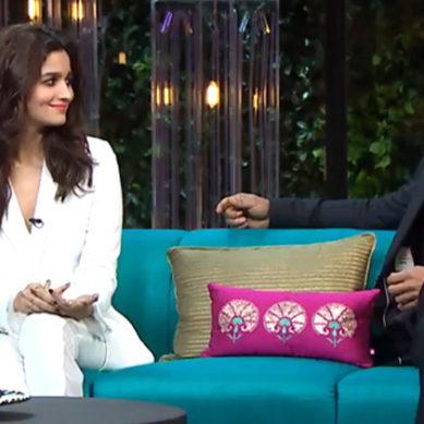 کافی ود کرن: شاہ رخ خان اور عالیہ بھٹ