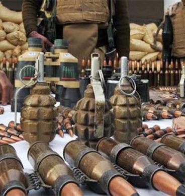 بلوچستان: بھاری مقدار میں اسلحہ برآمد
