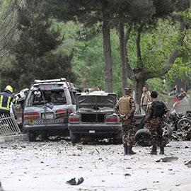 کابل: وزارت دفاع کی عمارت کے قریب کار دھماکا، 15 افراد ہلاک