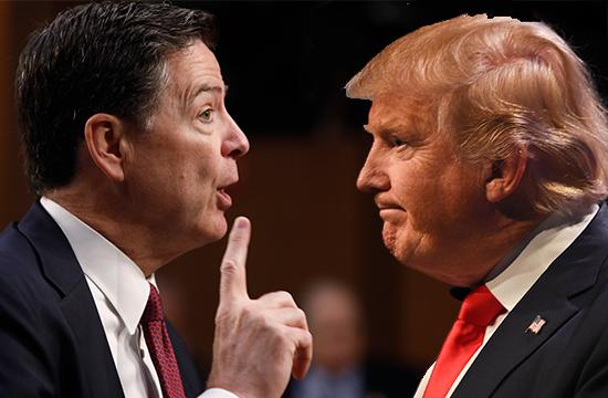 صدر ٹرمپ اخلاقی طور پرعہدے سے نااہل قرار، جیمز کومی