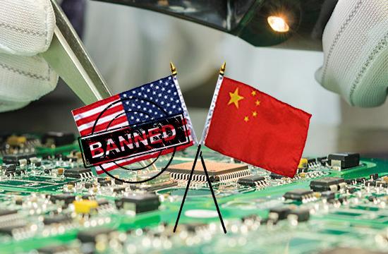 امریکہ نے چین کو پرزے بیچنے والی تین کمپنیوں پرپابندی عائد کردی