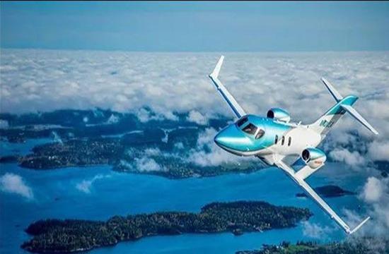 ہونڈا نےایندھن بچانے کی خصوصیت صلاحیت رکھنے والا جیٹ طیارہ متعارف کرادیا