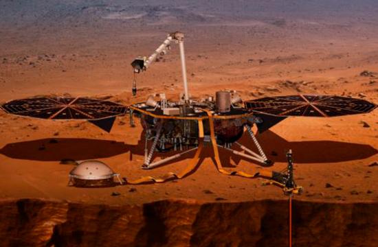 مریخ پر چھیڑ چھاڑ کرنےامریکہ کا جیالوجسٹ روبوٹ روانہ