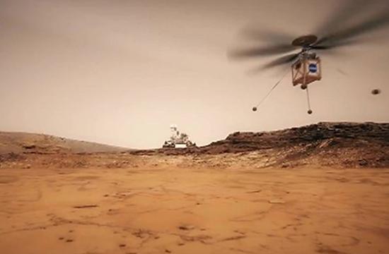 ہوا سے بس زرہ بھاری ہیلی کاپٹر، ناسا مریخ پر بھیجے گا۔