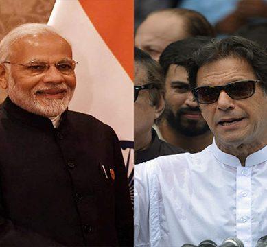 الیکشن میں کامیابی پر مبارک باد، مودی کا عمران خان کو ٹیلیفون