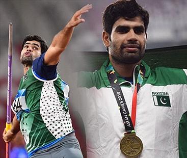 ایشین گیمز: پاکستانی ایتھیلیٹ ندیم ارشد نے ملک کے لیے تیسرا تمغہ جیت لیا