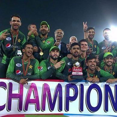 ٹی ٹوئنٹی رینکنگ:  پاکستان کی پہلی پوزیشن برقرار
