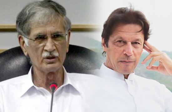 عمران خان کا فیصلہ قبول ہے،کسی کے دباؤ میں نہیں آتے، فیصلہ سوچ سمجھ کر کرتے ہیں، پرویزخٹک