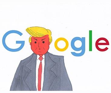 گوگل کا ٹرمپ کے الزام سے انکار