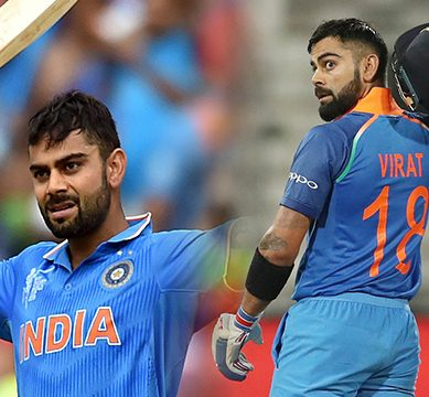 بھارتی کرکٹ ٹیم کے کپتان ویرات کوہلی ایک روزہ کرکٹ کے بعد ٹیسٹ میں بھی پہلے نمبر پر