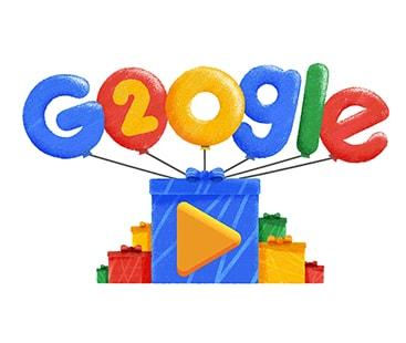 گوگل کے بیس سال مکمل