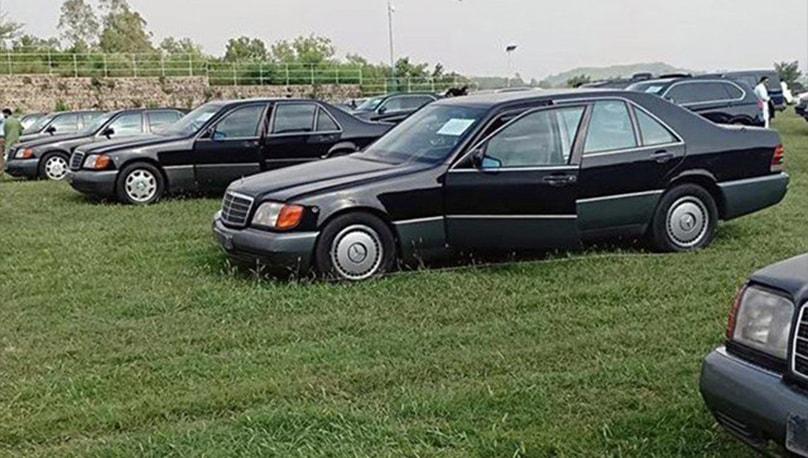 کفایت شعاری مہم: وزیراعظم ہاؤس کی 62 گاڑیاں 18 کروڑ میں نیلام، 40 باقی